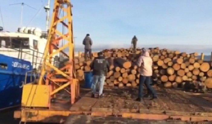 ВБратском районе директор лесозаготовительного предприятия продал древесину, предназначенную для теплоснабжения школы (Видео)