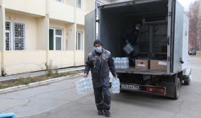 ВИркутске предприниматели доставят вковидные госпитали 50тонн питьевой воды
