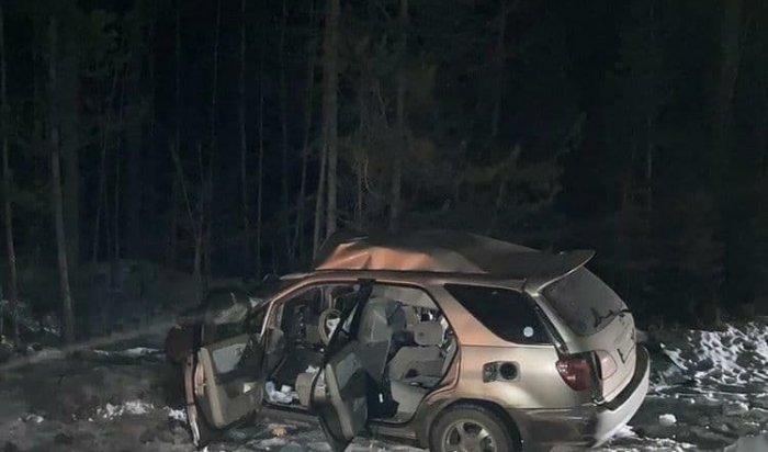 Две девушки погибли вДТП сегодня вечером на78-м кмтрассы «Байкал» вИркутской области