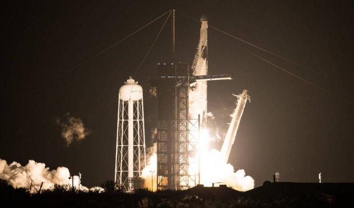 SpaceX отправила кМКС первую регулярную миссию Crew Dragon
