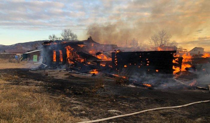 Установлена предположительная причина пожара в школе посёлка Большое Голоустное Иркутского района