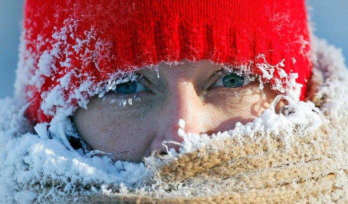 ВИркутской области ожидается мороз до-33градусов ввыходные
