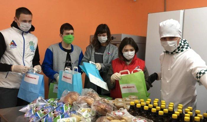 Более 3500 молодых людей Приангарья участвуют в акциях взаимопомощи во время пандемии