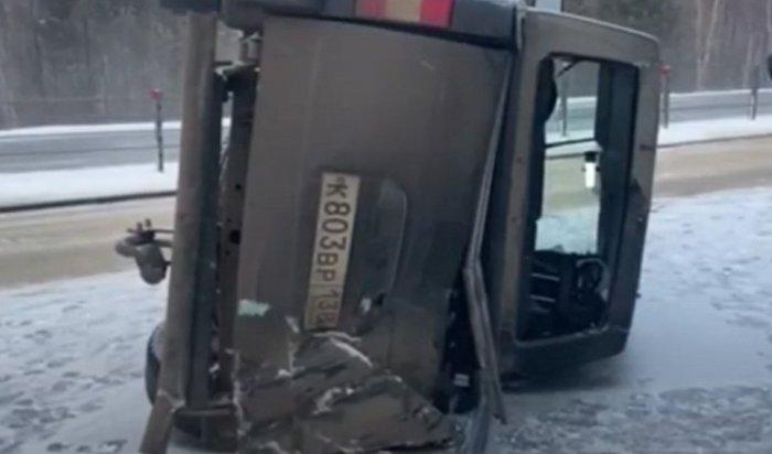 ВАнгарском районе погиб водитель УАЗ «Патриот»