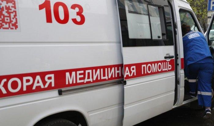 ВИркутске мужчина выпал сбалкона многоэтажки (Видео)