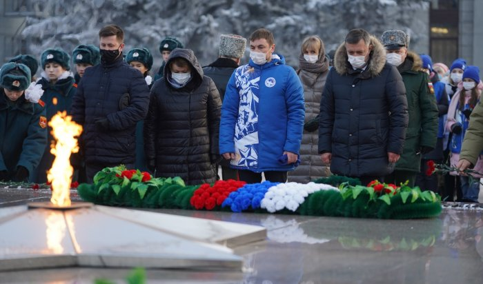 ВИркутске прошел митинг памяти неизвестных солдат