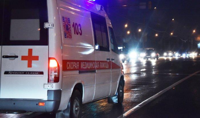 Женщина погибла вДТП сучастием автобуса вБратске (Видео)