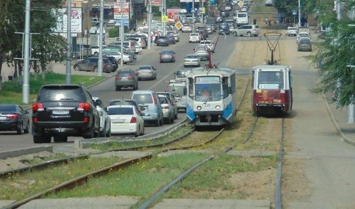 ВИркутске планируют построить полосу для «скоростного общественного транспорта»