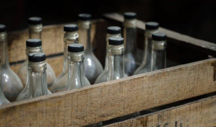 ВИркутской области полиция пресекла производство немаркированного алкоголя (Видео)