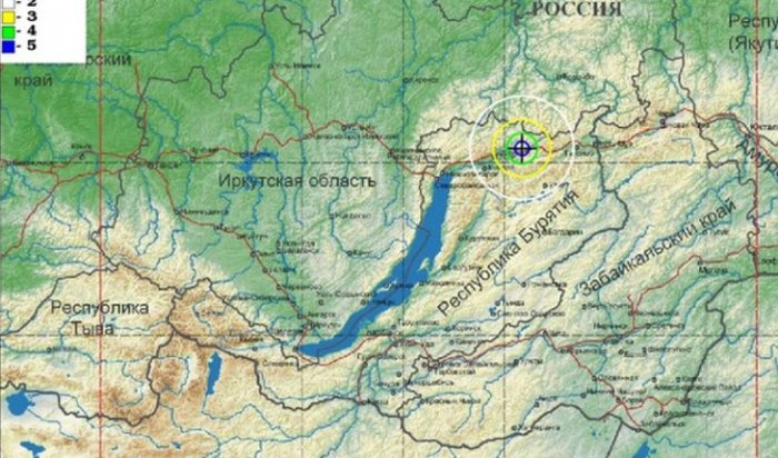 ВБурятии произошло землетрясение магнитудой 5-6балла