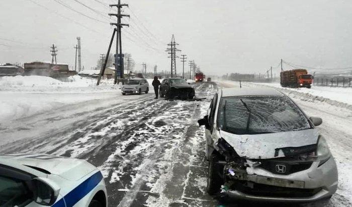 Три человека погибли вДТП запрошедшую неделю вИркутской области