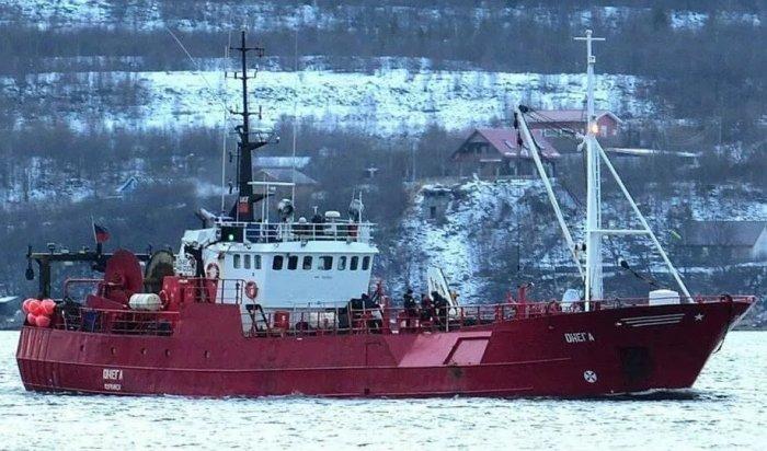 ВБаренцевом море затонуло рыболовное судно «Онега», наборту находились 19человек