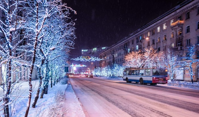 Расписание общественного транспорта вИркутске нановогодние выходные