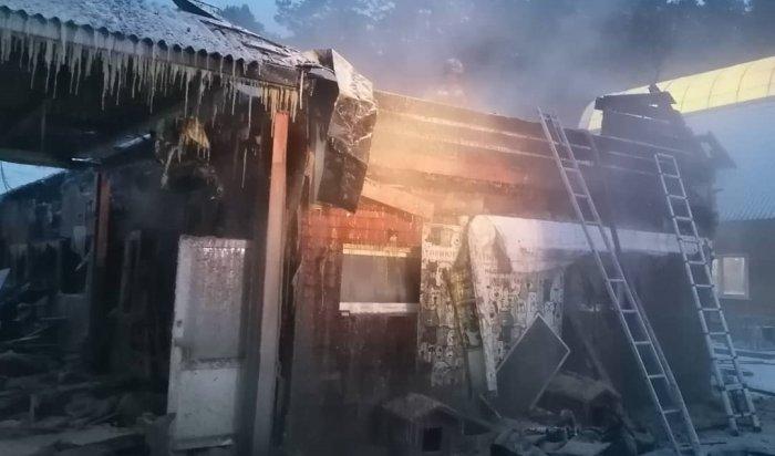 В иркутском питомнике «К-9» произошел пожар
