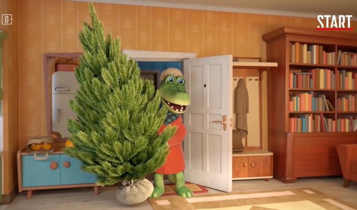 Новый мультфильм про Чебурашку иКрокодила Гену покажут 31декабря