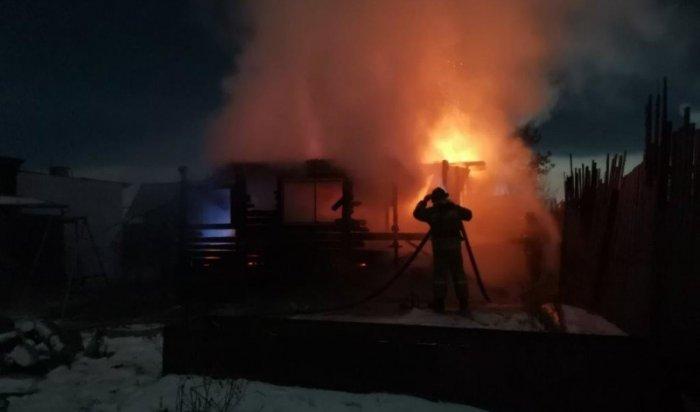 Резкое увеличение пожаров и гибели людей произошло в Иркутской области за прошедшие сутки