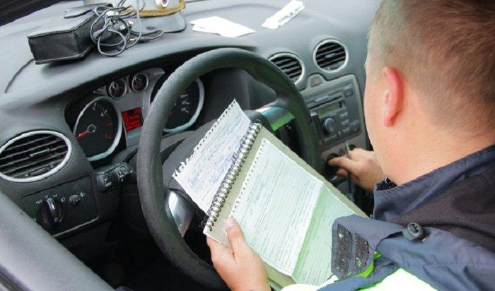 31декабря и1января вИркутской области инспекторы выявили 76пьяных водителей