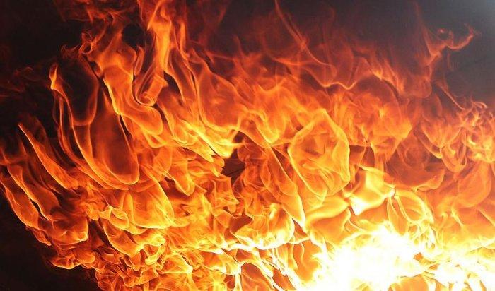 ВИркутске ночью сгорел магазин «Экономия» наулице Баррикад