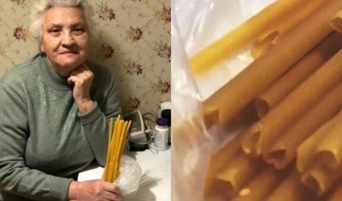В Гатчинской церковной лавке старушке продали макароны под видом свечей