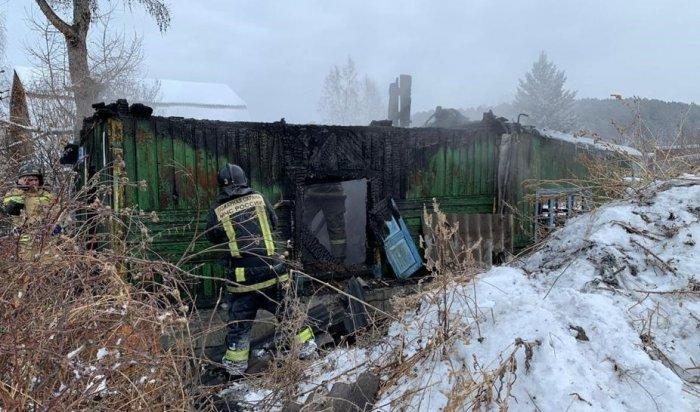 Установлена причина пожара в садоводстве, где погиб мужчина