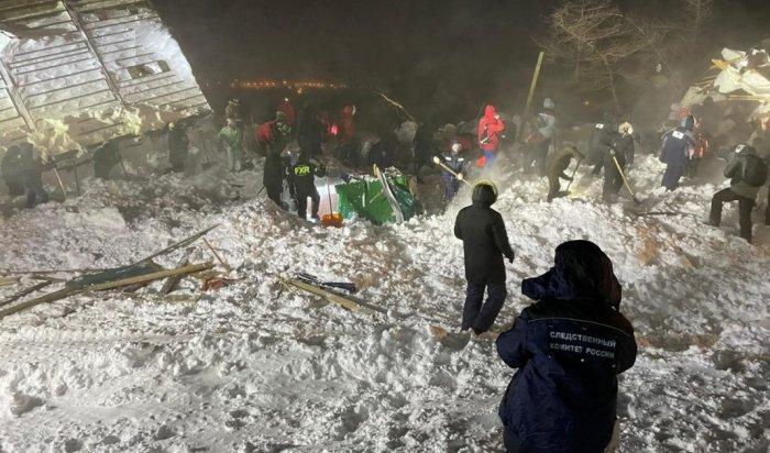 Снежная лавина сошла прямо нагостевые дома вКрасноярском крае