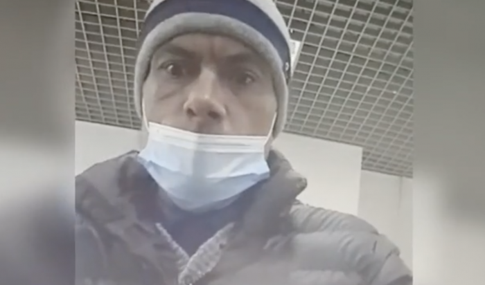 ВИркутске разыскивают мужчину, подозреваемого вкраже банковской карты упенсионерки (Видео)