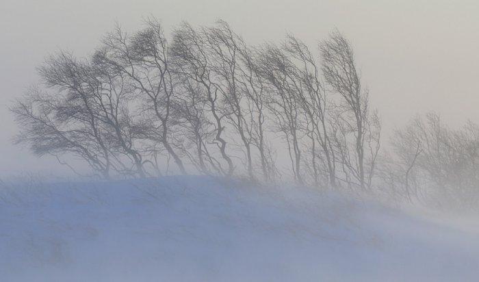 19января вИркутской области ожидают усиление ветра