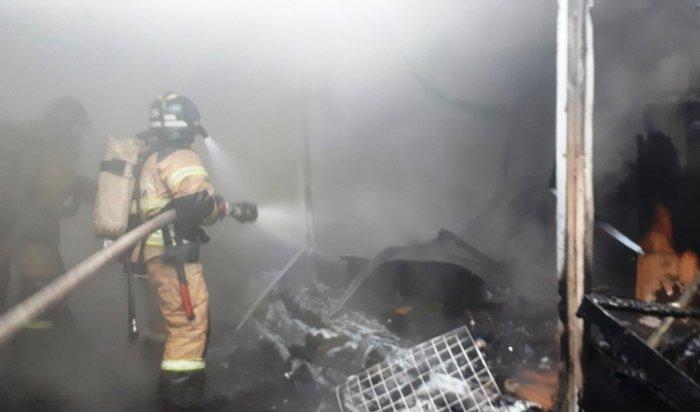 23 пожара произошло на территории Иркутской области за сутки