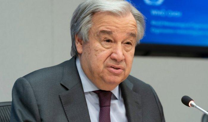 Генсек ООН заявил о худшем экономическом кризисе за 100 лет из-за COVID