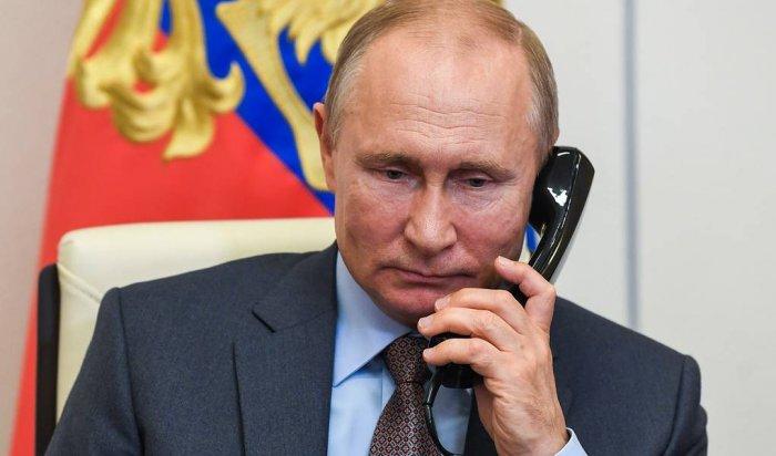 Владимир Путин иДжо Байден поговорили потелефону