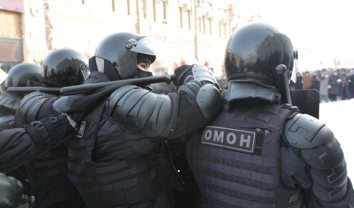 Фоторепортаж сиркутского митинга вподдержку Навального 31января