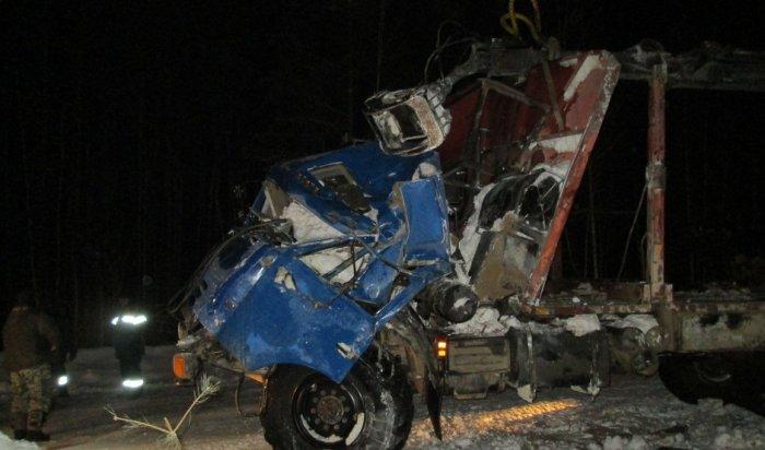 ВДТП вБратском районе погиб водитель лесовоза