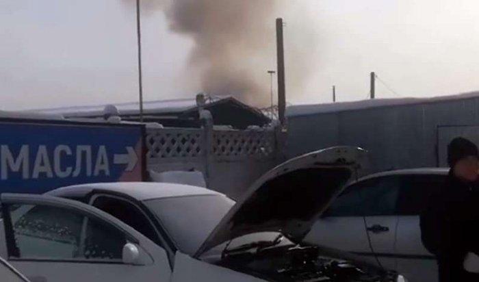 В гаражном кооперативе Ангарска произошел взрыв, пострадавших нет