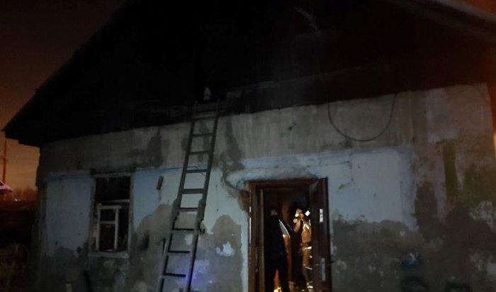 Два человека погибли на пожарах в  Черемхово и в Усолье-Сибирском ночью 13 февраля