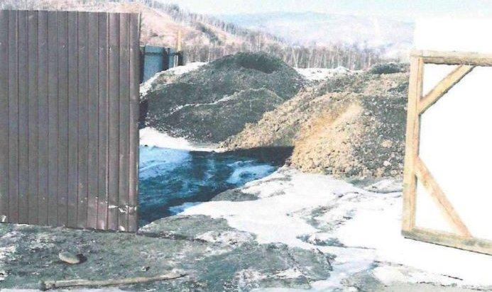 Отходы котельных незаконно сбрасывали рядом с Байкалом в Слюдянке