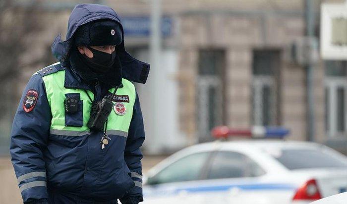 Полиция разыскивает водителя, сбившего школьницу на пешеходном переходе в Усолье-Сибирском (Видео)