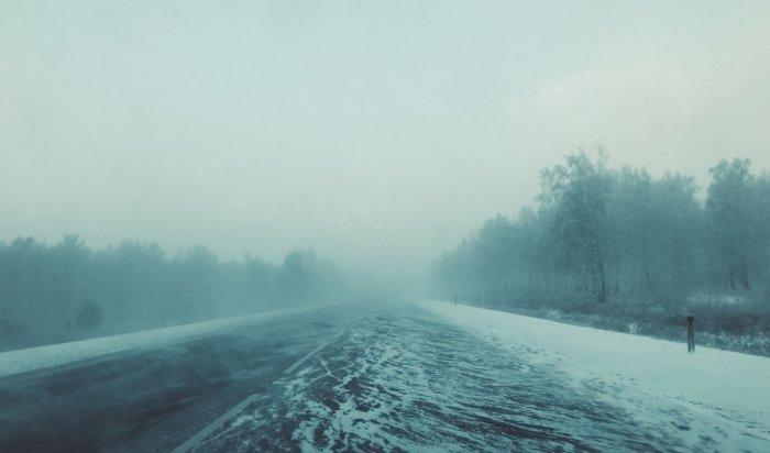 Сильные ветра, снег, метели прогнозируют метеорологи днем 9марта врайонах Приангарья