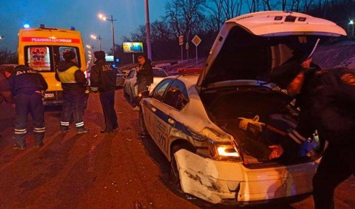 Во Владивостоке водитель насмерть сбил сотрудника ГИБДД (Видео)