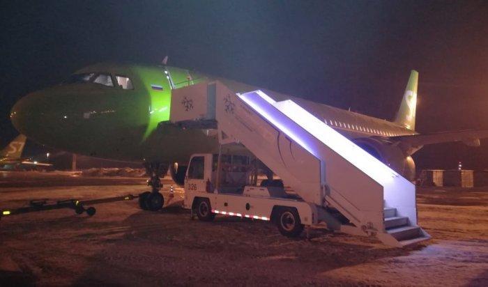 Самолет S7, летевший изНовосибирска вИркутск, совершил аварийную посадку