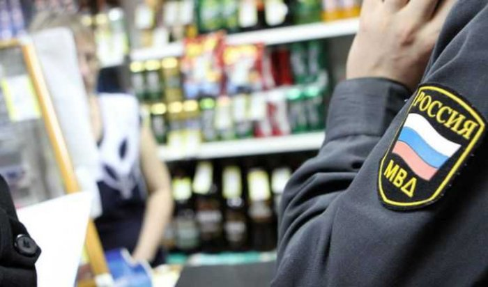 В Шелехове пресекают продажу алкоголя несовершеннолетним