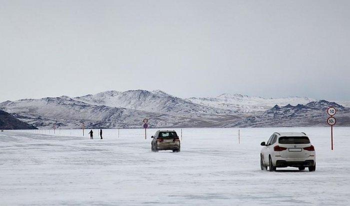 МЧС сообщает о скором закрытии ледовой переправы на Ольхон