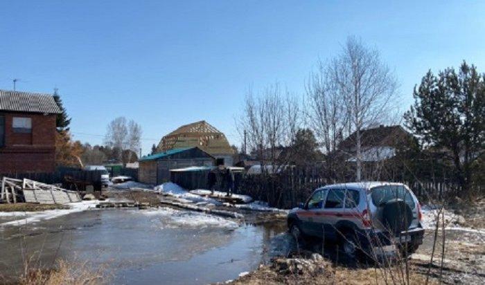 ВИркутске введен режим повышенной готовности из-за угрозы подтопления