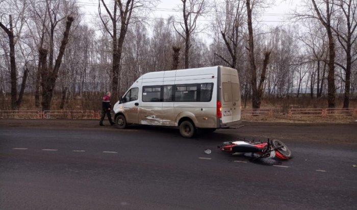 44-летний мотоциклист пострадал вДТП вНижнеудинске
