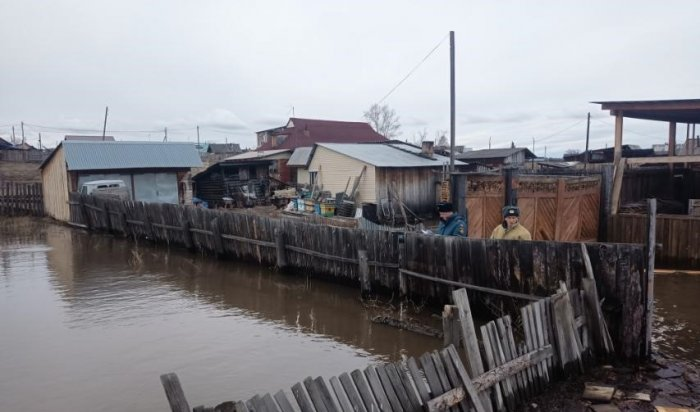 В результате паводка в посёлке Залари подтопило приусадебные участки