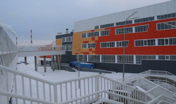 Новая школа на 1,2 тысячи человек откроется в поселке Маркова 1 сентября