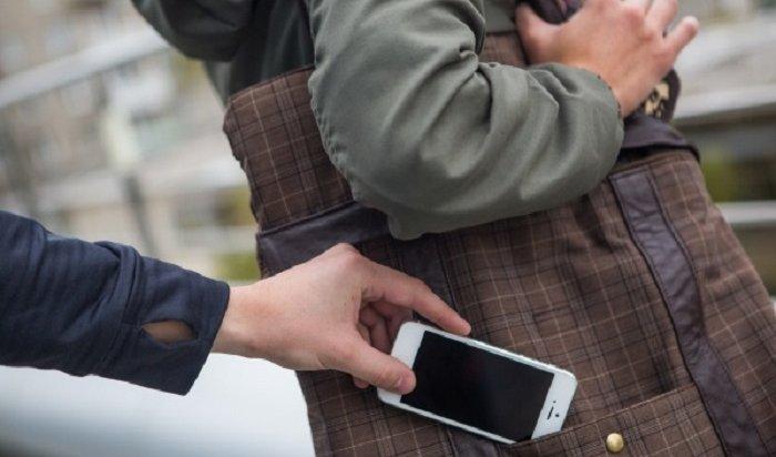 ВИркутске задержаны подозреваемые всовершении серии краж телефонов (Видео)