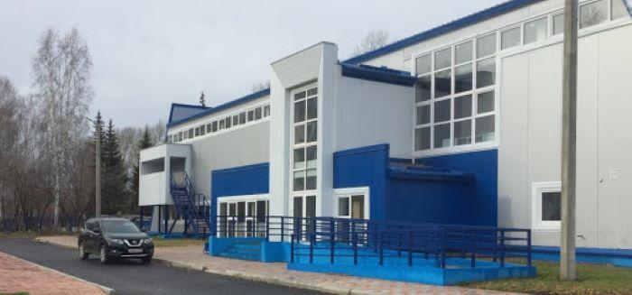 В Усть-Уде открылся ФОК, строившийся с 2019 года