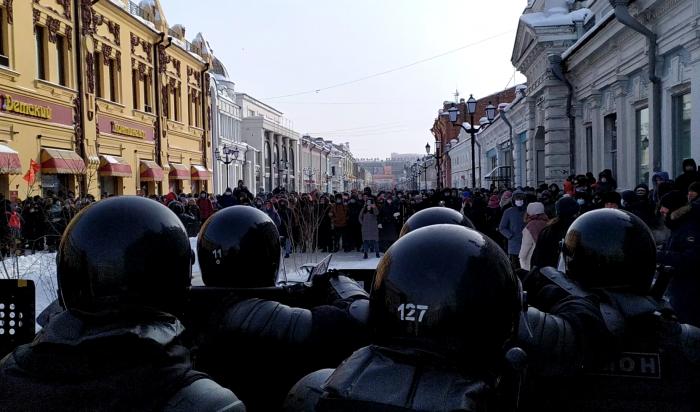 МВД Иркутской области напоминает обответственности заучастие внесанкционированных акциях