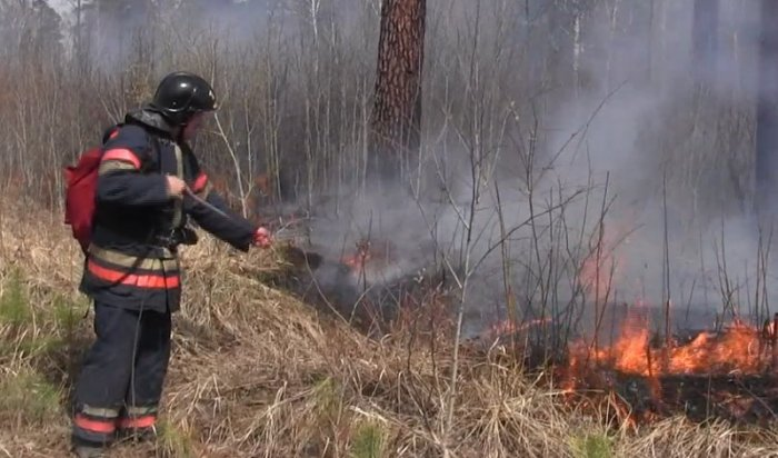 За прошедшие сутки в Приангарье ликвидирован один пожар