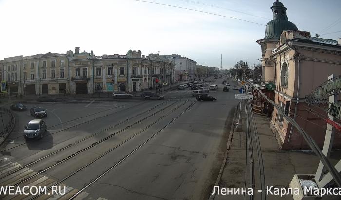 WEACOM.RU установил новую онлайн-камеру напересечении улиц Ленина иКарла Маркса